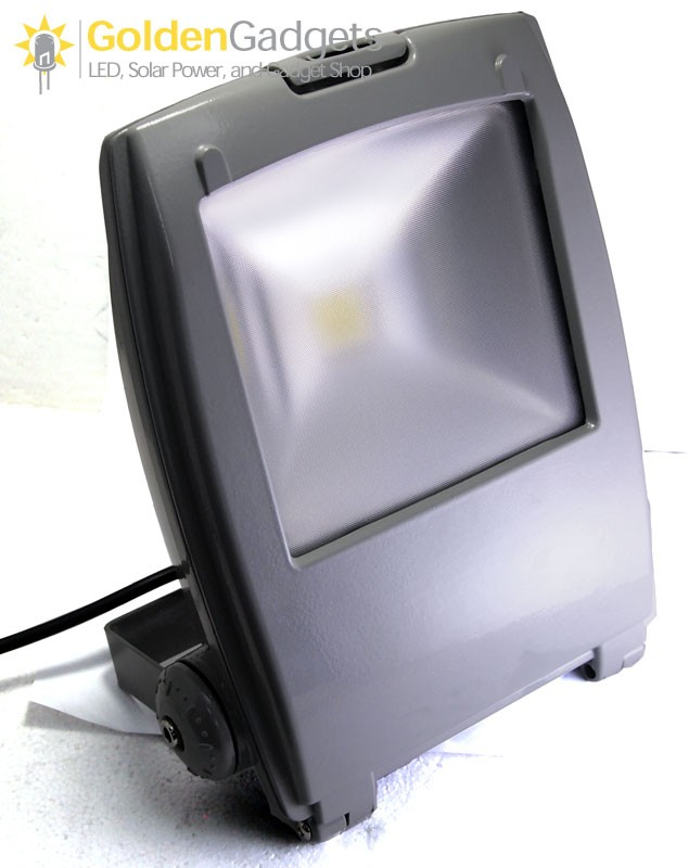 Slim Profile Outdoor 10-Watt LED Flood Light AC - White 6000K