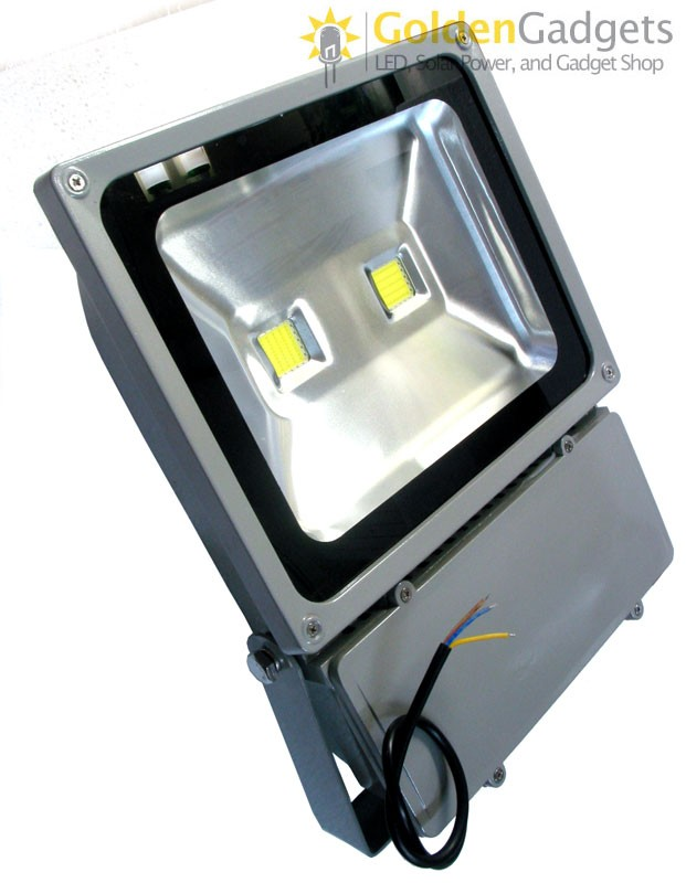 100-Watt (2 x 50-Watt) LED Flood Light Outdoor AC 85V-265V Twin
